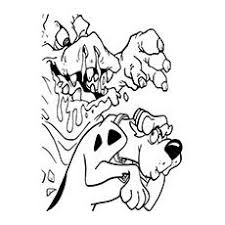 scooby doo halloween coloring pages free cartoon