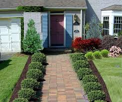 glamorous flower bed in front of house 69 for interior designing