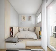 lit chambre aménagement chambre utilisation optimale de l espace