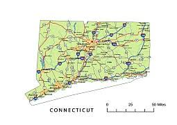 road map connecticut usa connecticut state maps usa maps of connecticut ct map of
