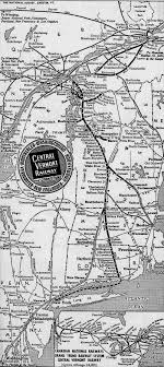 new england central railroad map the central vermont railway was a small through main route that