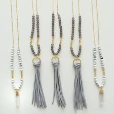 long crystal tassel necklace images Tassel necklaces clipart jpg