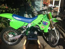 motocross race numbers 1990 kx250 restoration labour of love old moto