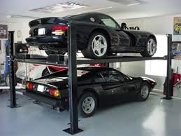 Low Ceiling 2 Post Lift by Automobile Lifts Garage Evolution