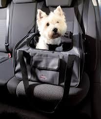 siege de transport siège de voiture gris et sac de transport petit chien pour le