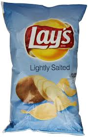 Lays Chips Meme - com lays lightly salted 10 oz