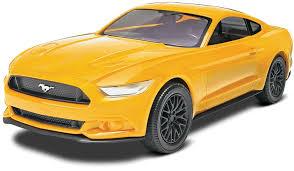 mustang gt model revell 1 25 2015 mustang gt yellow plastic model kit