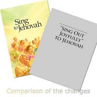 sing to jehovah vs sing out joyfully comparison chart sing out