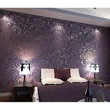 papiers peints pour chambre hanmero papier peint moderne intissé motif avec rayures 3d flocage