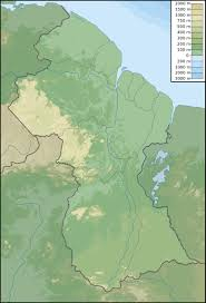 Physical Map South America by Maps Of Guyana Map Library Maps Of The World