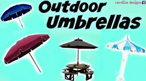 Patio Umbrella Cord by Outdoor Umbrellas Repair Youtube