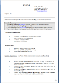 Tally Resume Sample by Resume Format For Mis Executive Resume Format