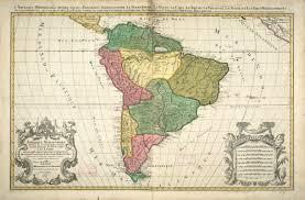 Ou Map Amerique Meridionale Divisée En Ses Principales Parties Ou Sont
