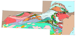 Map Of Upper Peninsula Michigan by Digital Geologic Map Of The Penokean Continental Margin Northern