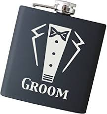 and groom flasks personalizied 6oz letters engraved fraternity