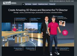 be a show director with your own presentation speeches with tvnima