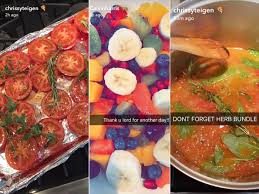 cuisine am ag en u who to cook on snapchat