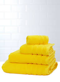 Bright Yellow Bathroom by Definitely Using These As The Accent Colour In The Bathroom