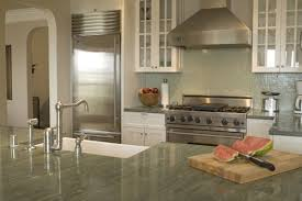 kitchen no backsplash what make and color are the green backsplash tiles i the
