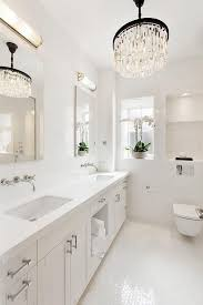 Bathroom Chandeliers Ideas Best 25 Bathroom Chandelier Ideas On Pinterest Master Bath