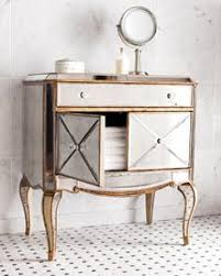 amelie small mirrored chest nightstands small mirrors and bedrooms
