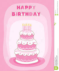 happy birthday greeting card stock images image 12531774