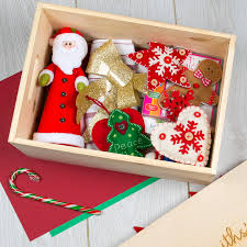 christmas boxes personalised large christmas box for family by dust and things
