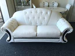 ebay sofas for sale versace sofa 3 str 2 set white leather with diamonds must l