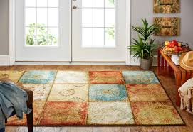 how big should my area rug be red barrel studio aftonshire red blue area rug u0026 reviews wayfair