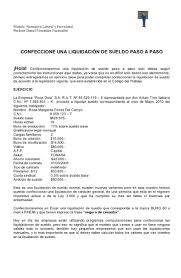 calculadora de finiquito en chile clase nº 3 confeccion de una liquidacion de sueldo paso a paso versio