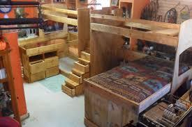 custom bunk beds texas bunk bed twin over queen rustic cool images