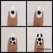 cute soccer nails posh nail art kawaii pinterest soccer