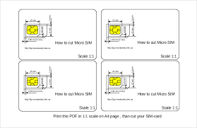 printable ruler pdf a4 micro sim template 10 free word pdf documents download free