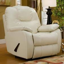 furniture perfect white leather wall hugger recliner
