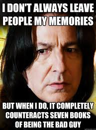 Professor Snape Meme - professor snape best potions teacher ever harrypotter snape