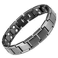 magnetic bracelet tool images Willis judd mens gunmetal titanium double row magnetic bracelet in jpg