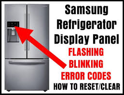 tv blinking red light codes refrigerator flashing blinking faults reset