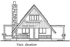 a frame house plan a frame house plan chp 5581 at coolhouseplans