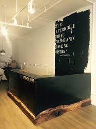 Metal Reception Desk Metal Fabrication U2014 Nycityslab Custom Furniture And Live Edge Slabs