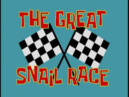 the great snail race transcript encyclopedia spongebobia