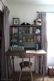 Desk Ideas For Small Bedrooms Teen Boy U0027s Small Bedroom An Update The Inspired Room