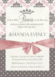 free printable princess baby shower invitations free printable