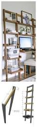 Bookcase Desk Diy Best 25 Bookshelf Desk Ideas On Pinterest Ikea Desk Top Desk