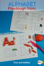 printable alphabet mat free printable alphabet playdough mats kidz activities