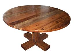 rustic round pedestal dining table rustic round dining table tedxumkc decoration