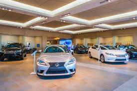 lexus dealership design lexus dealership ecosense lighting