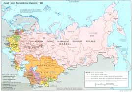 Ural River On World Map by Russia