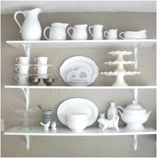 shelves furniture ideas white gloss kitchen shelf white kitchen