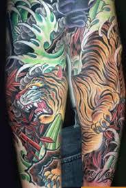 tiger half sleeve by mike rubendall tattoonow