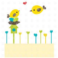 cartoon bird family on nest vector clipart image 24224 u2013 rfclipart